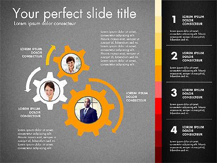 Team Presentation Template, Slide 16, 02873, Presentation Templates — PoweredTemplate.com