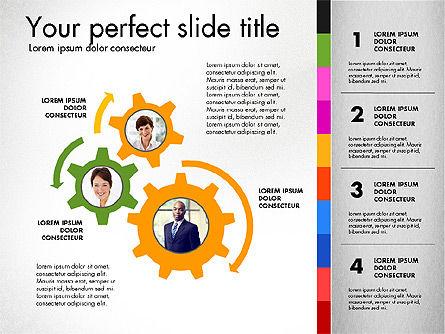 Team Presentation Template, Slide 8, 02873, Presentation Templates — PoweredTemplate.com