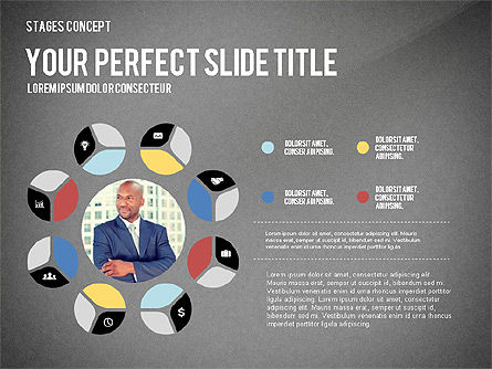 Presentation Template Stages, Slide 15, 02877, Stage Diagrams — PoweredTemplate.com