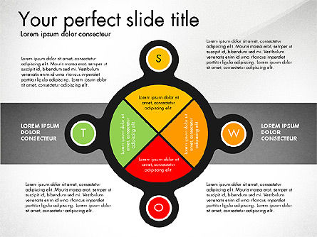 Business Models: SWOT Presentation Template #02879