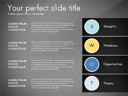 SWOT Presentation Template, Slide 10, 02879, Business Models — PoweredTemplate.com