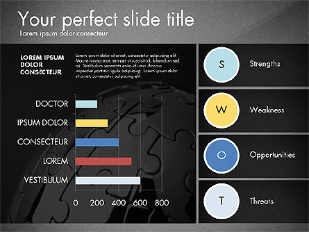 SWOT Presentation Template, Slide 13, 02879, Business Models — PoweredTemplate.com