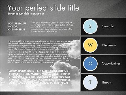 SWOT Presentation Template, Slide 15, 02879, Business Models — PoweredTemplate.com