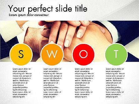 SWOT Presentation Template, Slide 3, 02879, Business Models — PoweredTemplate.com