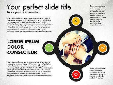 SWOT Presentation Template, Slide 4, 02879, Business Models — PoweredTemplate.com