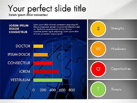 SWOT Presentation Template, Slide 5, 02879, Business Models — PoweredTemplate.com