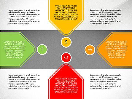 SWOT Presentation Template, Slide 6, 02879, Business Models — PoweredTemplate.com