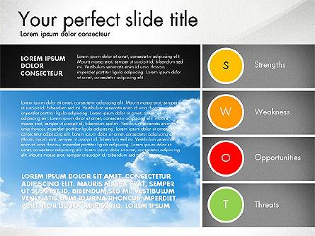 SWOT Presentation Template, Slide 7, 02879, Business Models — PoweredTemplate.com
