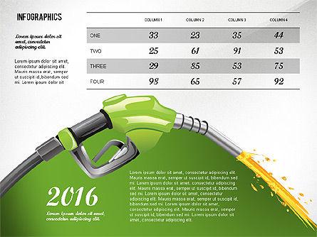 Bio Fuel Infographics, 02880, Infographics — PoweredTemplate.com