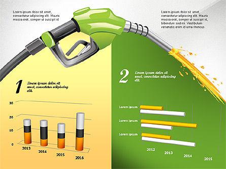 Bio Fuel Infographics, Slide 8, 02880, Infographics — PoweredTemplate.com