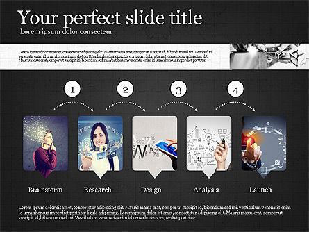 Visual Presentation Template, Slide 10, 02881, Presentation Templates — PoweredTemplate.com