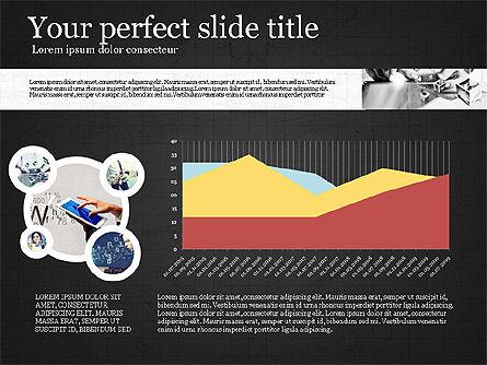 Visual Presentation Template, Slide 13, 02881, Presentation Templates — PoweredTemplate.com