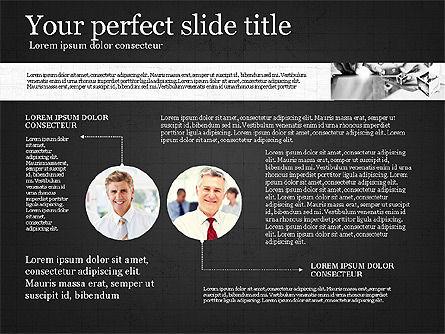 Visual Presentation Template, Slide 15, 02881, Presentation Templates — PoweredTemplate.com