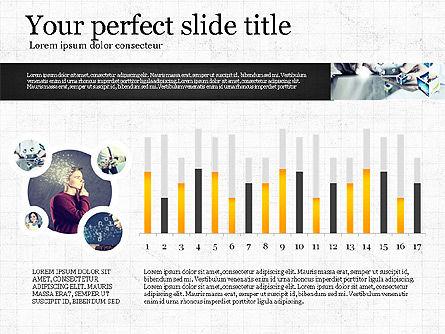 Visual Presentation Template, Slide 3, 02881, Presentation Templates — PoweredTemplate.com