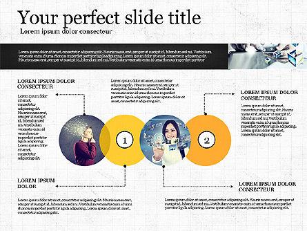 Visual Presentation Template, Slide 4, 02881, Presentation Templates — PoweredTemplate.com