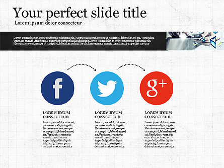 Visual Presentation Template, Slide 8, 02881, Presentation Templates — PoweredTemplate.com