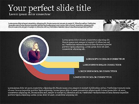 Visual Presentation Template, Slide 9, 02881, Presentation Templates — PoweredTemplate.com