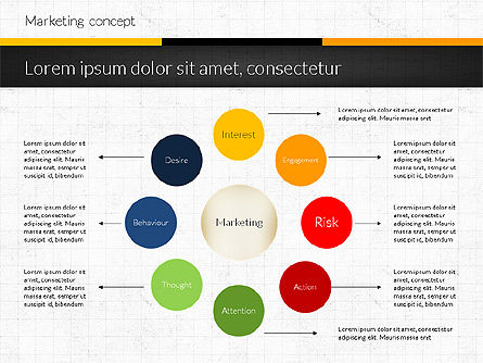 Presentation Templates: Marketing Presentation Concept #02884