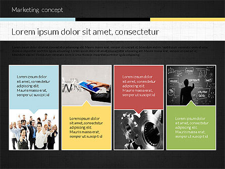 Marketing Presentation Concept, Slide 13, 02884, Presentation Templates — PoweredTemplate.com