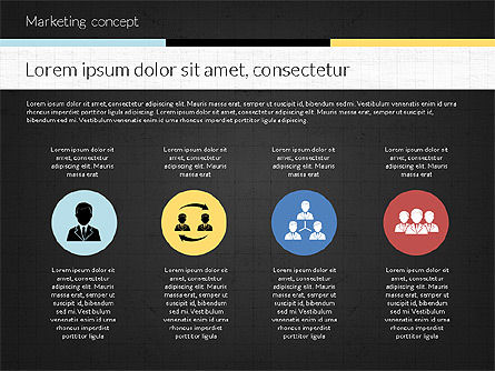 Marketing Presentation Concept, Slide 15, 02884, Presentation Templates — PoweredTemplate.com