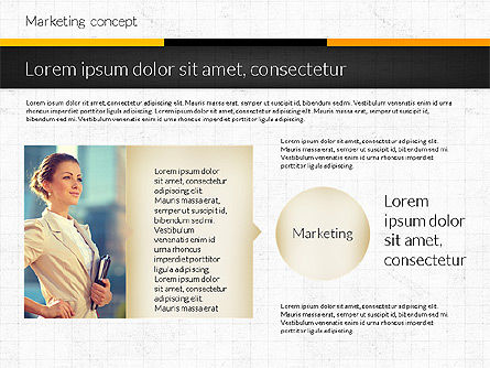 Marketing Presentation Concept, Slide 2, 02884, Presentation Templates — PoweredTemplate.com