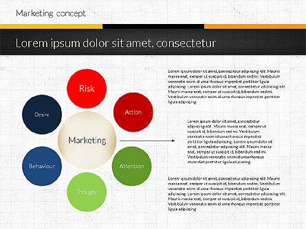 Marketing Presentation Concept, Slide 3, 02884, Presentation Templates — PoweredTemplate.com