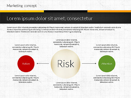 Marketing Presentation Concept, Slide 4, 02884, Presentation Templates — PoweredTemplate.com