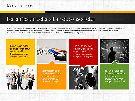 Marketing Presentation Concept, Slide 5, 02884, Presentation Templates — PoweredTemplate.com