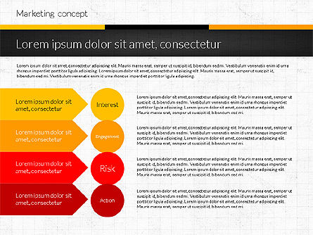 Marketing Presentation Concept, Slide 6, 02884, Presentation Templates — PoweredTemplate.com