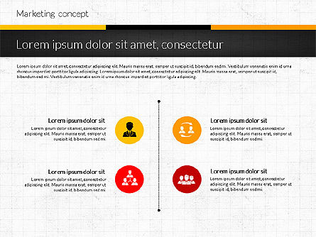 Marketing Presentation Concept, Slide 8, 02884, Presentation Templates — PoweredTemplate.com