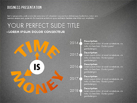 Time Money Result Concept, Slide 11, 02888, Business Models — PoweredTemplate.com