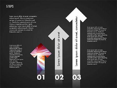 Steps Diagram Toolbox, Slide 10, 02891, Stage Diagrams — PoweredTemplate.com