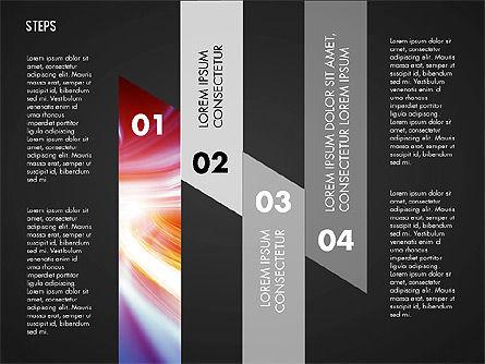 Steps Diagram Toolbox, Slide 9, 02891, Stage Diagrams — PoweredTemplate.com