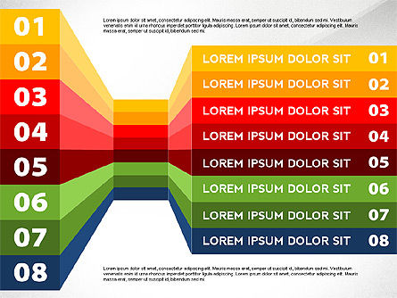 Plan Options Toolbox, Slide 5, 02892, Stage Diagrams — PoweredTemplate.com