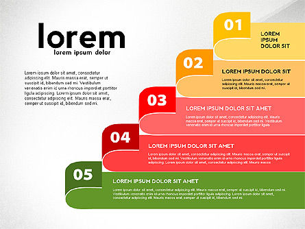 Plan Options Toolbox, Slide 8, 02892, Stage Diagrams — PoweredTemplate.com