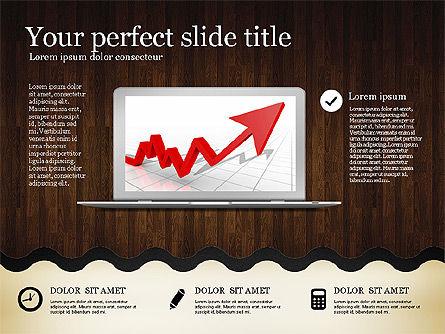 Woody Style Presentation Template, Slide 13, 02893, Presentation Templates — PoweredTemplate.com