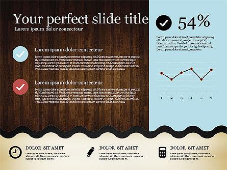 Woody Style Presentation Template, Slide 16, 02893, Presentation Templates — PoweredTemplate.com