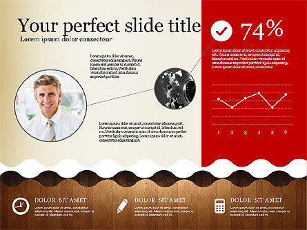 Woody Style Presentation Template, Slide 2, 02893, Presentation Templates — PoweredTemplate.com