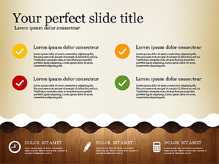 Woody Style Presentation Template, Slide 3, 02893, Presentation Templates — PoweredTemplate.com
