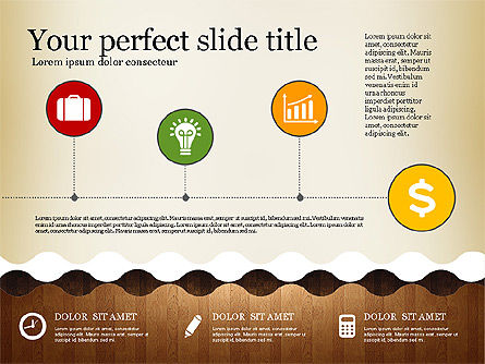 Woody Style Presentation Template, Slide 7, 02893, Presentation Templates — PoweredTemplate.com