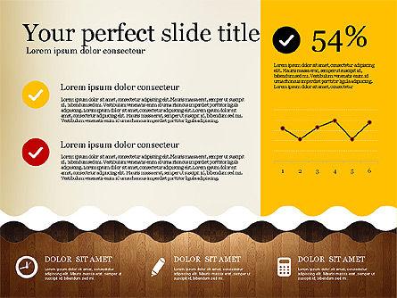 Woody Style Presentation Template, Slide 8, 02893, Presentation Templates — PoweredTemplate.com