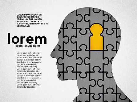 Puzzle Diagrams: Puzzle Shapes and Silhouettes #02894