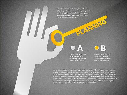 Teamwork Presentation Concept in Sketch Style, Slide 10, 02895, Presentation Templates — PoweredTemplate.com