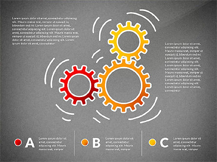 Teamwork Presentation Concept in Sketch Style, Slide 11, 02895, Presentation Templates — PoweredTemplate.com