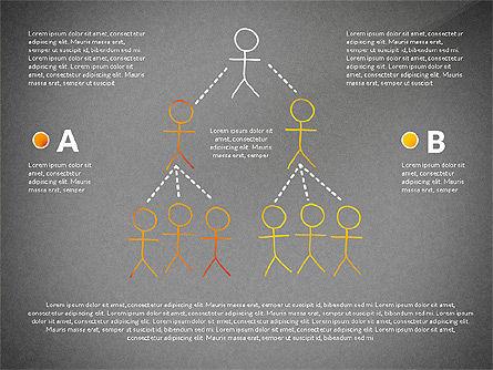 Teamwork Presentation Concept in Sketch Style, Slide 12, 02895, Presentation Templates — PoweredTemplate.com