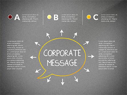 Teamwork Presentation Concept in Sketch Style, Slide 13, 02895, Presentation Templates — PoweredTemplate.com