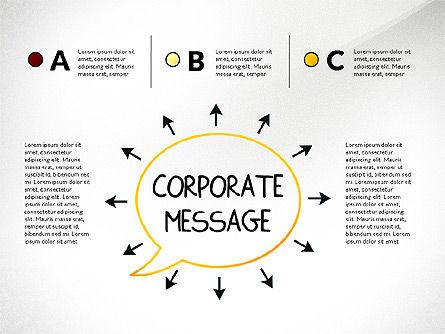 Teamwork Presentation Concept in Sketch Style, Slide 5, 02895, Presentation Templates — PoweredTemplate.com