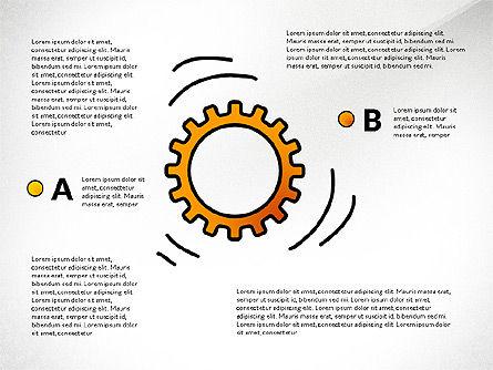 Teamwork Presentation Concept in Sketch Style, Slide 7, 02895, Presentation Templates — PoweredTemplate.com