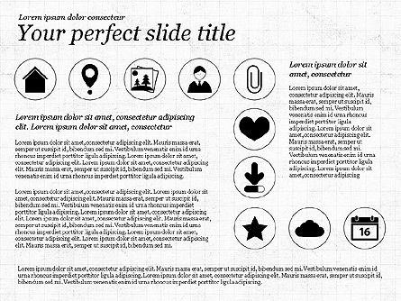 Icons and Text, Slide 5, 02896, Icons — PoweredTemplate.com