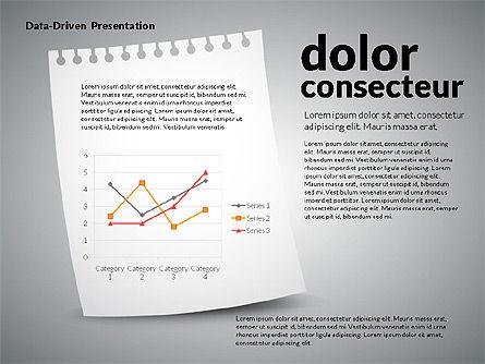 Data Driven Charts on Paper Sheet Slide 3